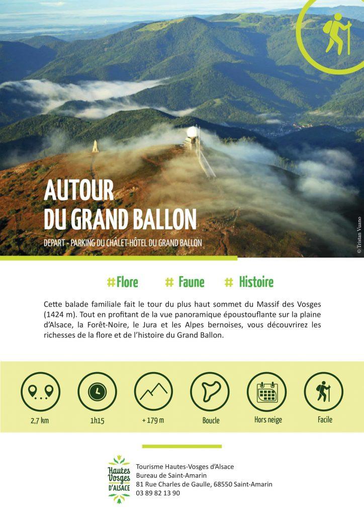 """""""Autour du Grand Ballon"""" Profitez de votre séjour dans l'un de nos deux gites pour découvrir de belles ballades et réaliser ainsi de belles escapades notamment autour des principaux sommets entre les #Vosges et L' #Alsace Cette balade familiale fait le tour du plus haut sommet du Massif des Vosges (1424 m). Tout en profitant de la vue panoramique époustouflante sur la plaine d'Alsace, la Forêt-Noire, le Jura et les Alpes bernoises, vous découvrirez les richesses de la flore et de l'histoire du Grand Ballon. Il reste encore quelques disponibilités pour passer de belles vacances au calme dans un des deux chalets en bois aux pieds des Vosges."""