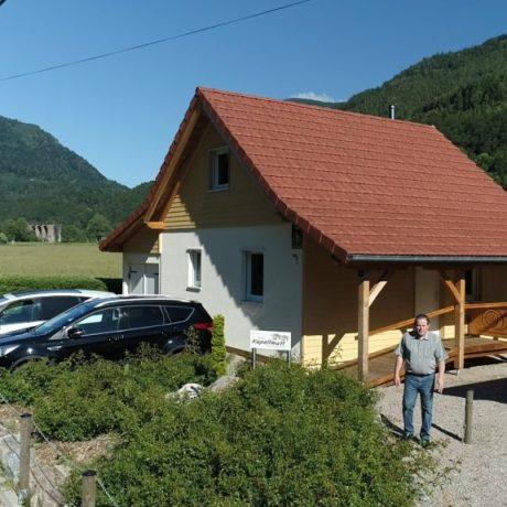 Visite chez Gites vacances ou séjours week-end en Alsace aux pieds des Vosges
